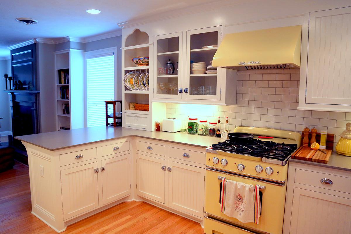 Blue Pink Kitchen