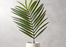 Faux palm leaf from CB2 217x155 10 Top Trends from the New Spring Collections