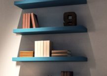 Floating-shelves-add-a-touch-of-turquoise-to-the-interior-217x155