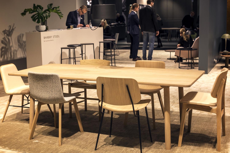 Fredericia Spine, Pato, Søborg steel & Søborg wood chairs