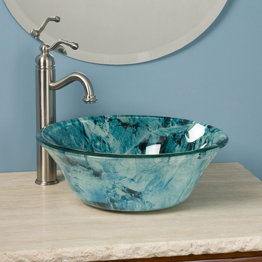 Bathroom Sinks Glass stylish and diverse vessel bathroom sinks