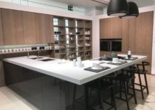 Glossy-corner-kitchen-island-with-wood-looking-tile-furniture-GamaDecor-217x155