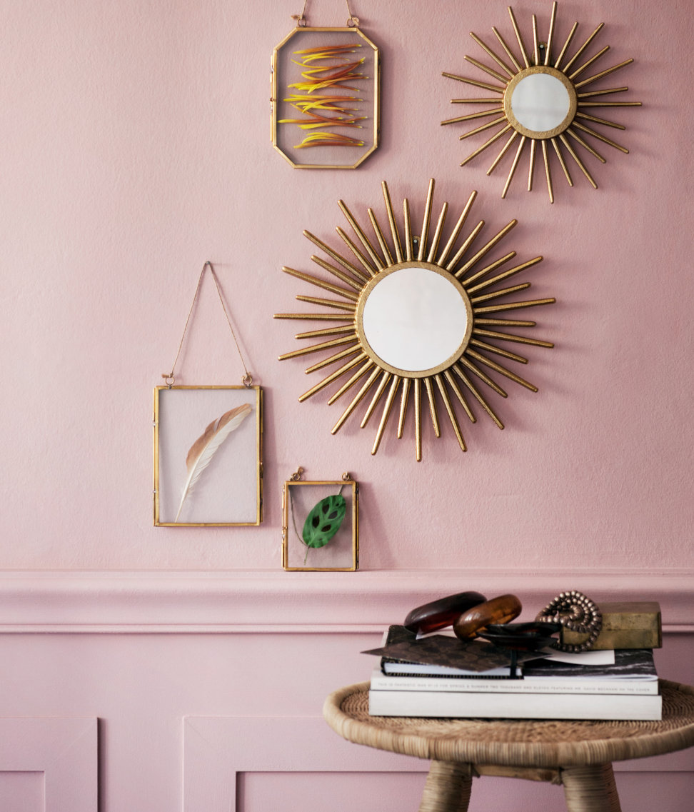 Gold decor from H&M Home