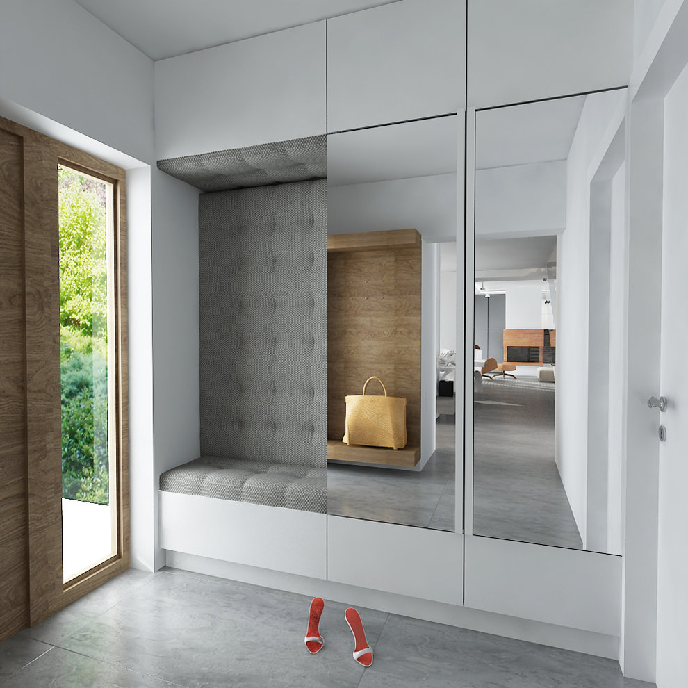 Foyer Minimalist Review : Ditch the clutter minimalist entryways