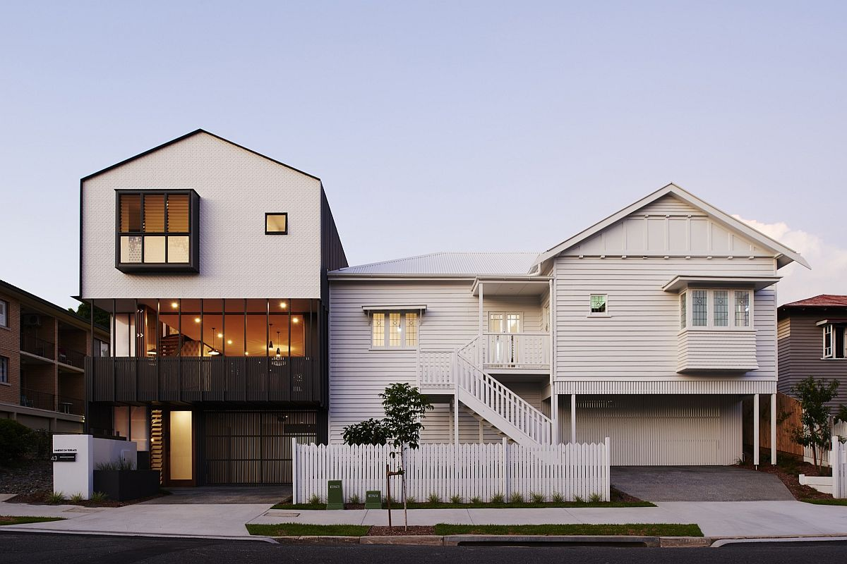 Habitat on terrace modern reinterpretation of a classic for Home designs brisbane