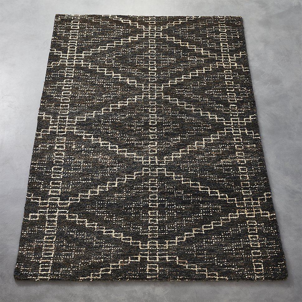 Hemp rug from CB2