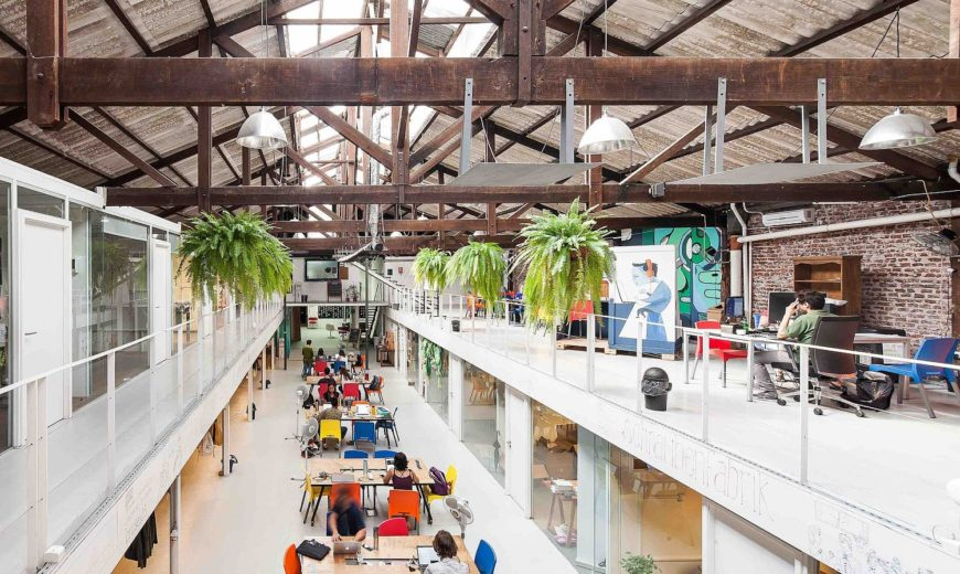 Sinergia Cowork Palermo: Adaptive Reuse at its Industrial Best
