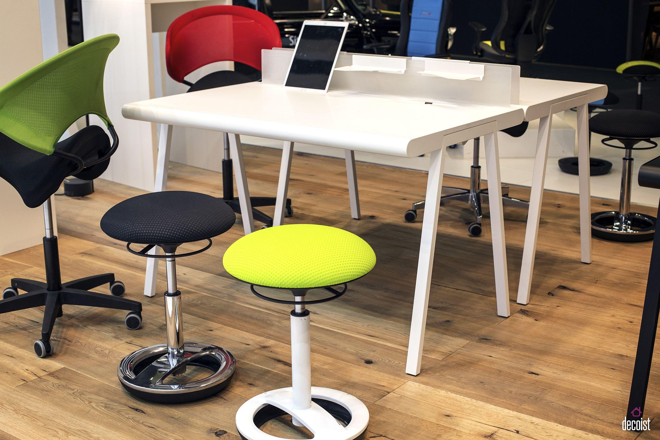 Innovative desk design from Sitness