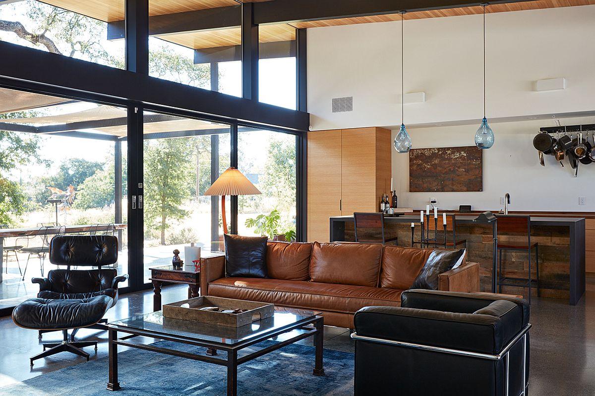 Midcentury modern decor for the stylish interior