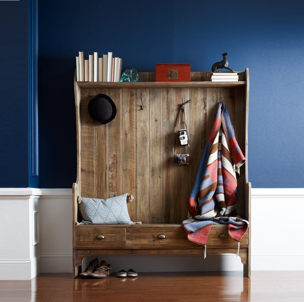 30 Inspiring Mudroom Designs: Ditch The Clutter: 30 Minimalist Entryways