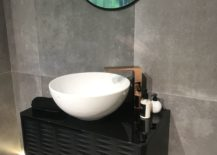 Modern-bathroom-furniture-with-copper-finished-taps-217x155