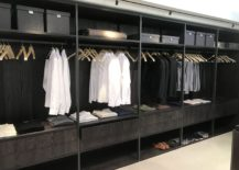 Modern-walk-in-closet-with-tiles-facades-for-drawers-217x155