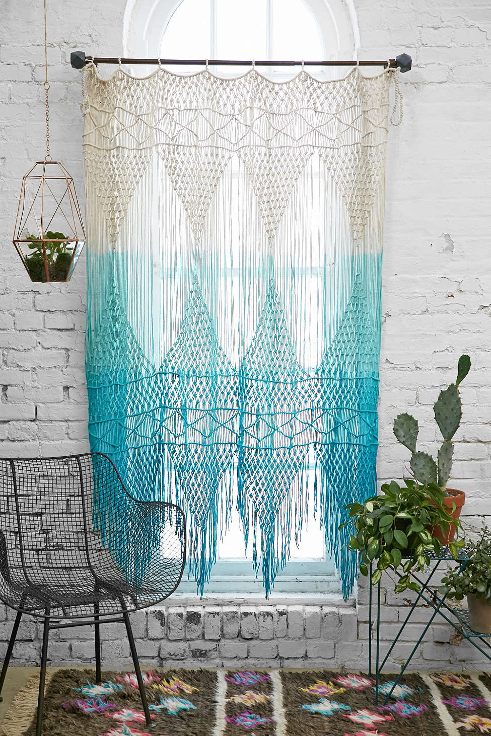 trendy ombre curtains in cold warm and neutral hues - view in gallery