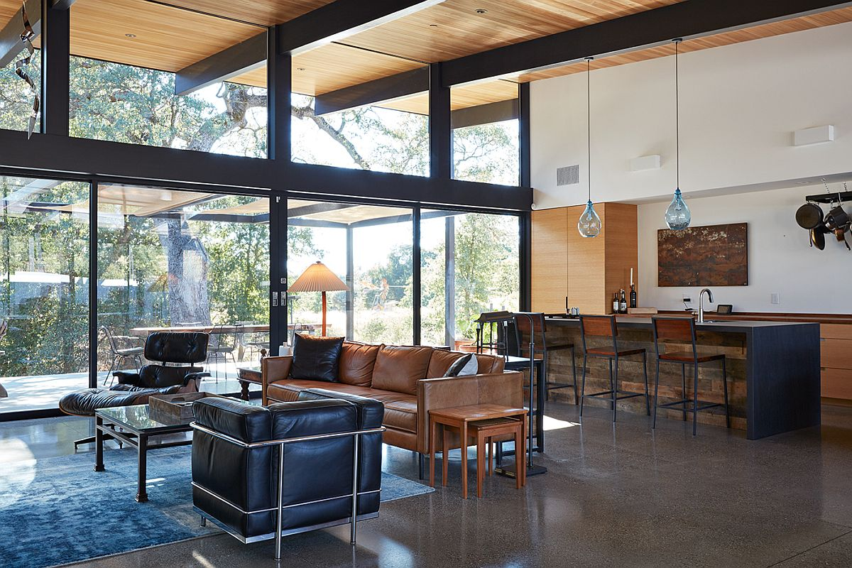 Sacramento modern residence inspired by the classic for Eichler designs