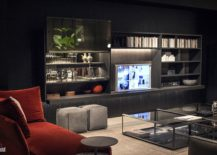 Open-shelves-built-around-the-TV-for-the-masculine-living-space-217x155