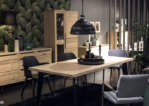 Pendant-light-and-chairs-bring-black-to-the-modern-tropical-dining-room-217x155