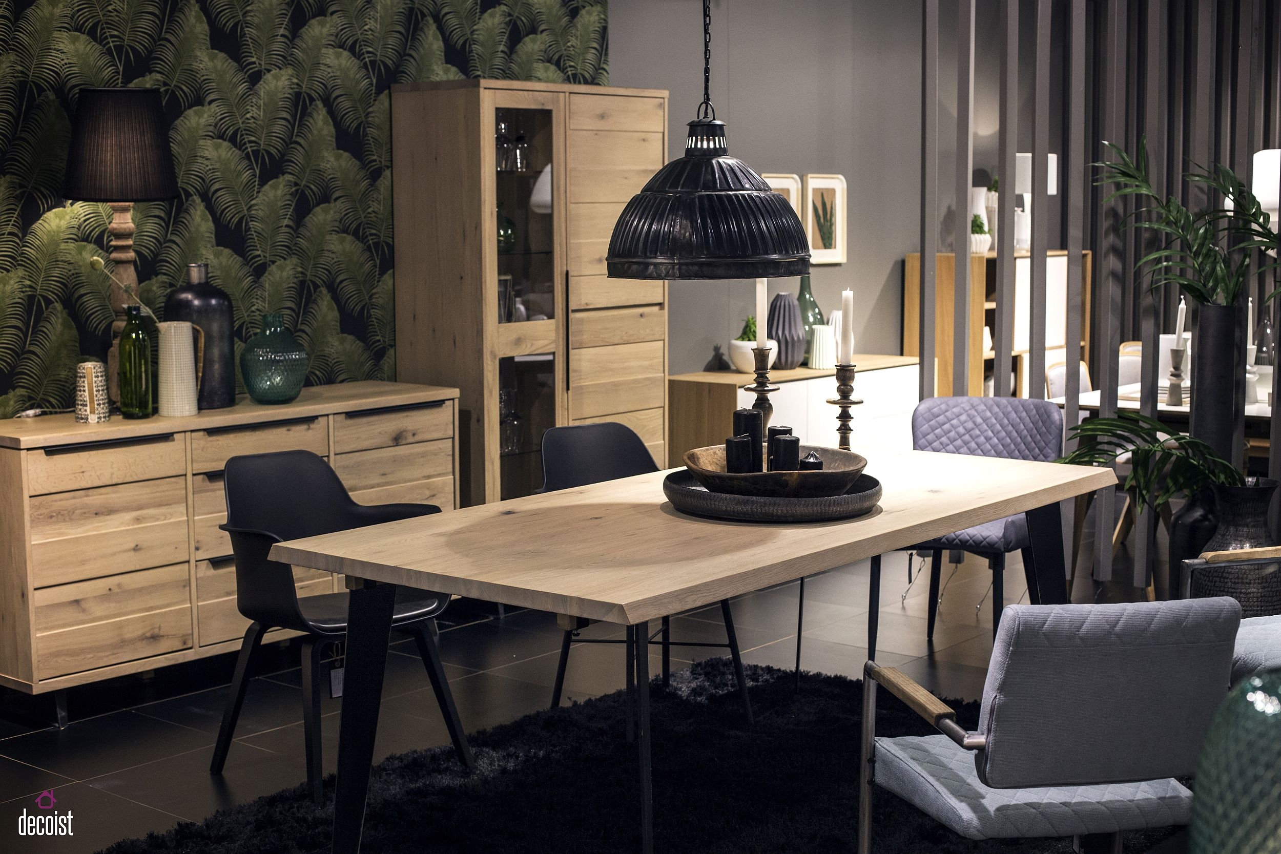 view in gallery - Dining Room Table Black