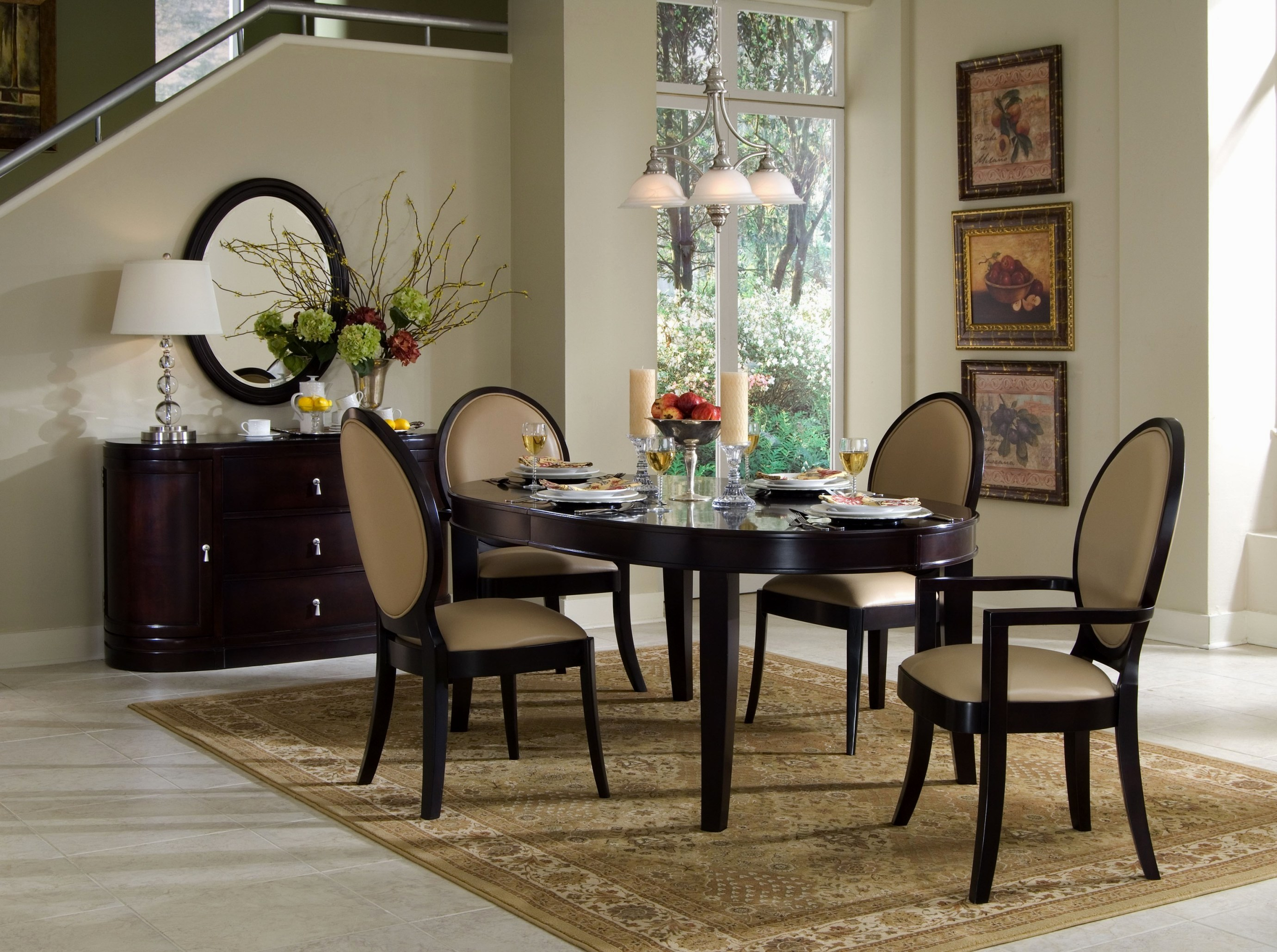 Adding to the Dining Room Elegance. 30 Rugs That Showcase Their Power Under the Dining Table