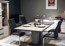 Polished-contemporary-dining-room-from-Sciane-with-wooden-dining-table-217x155