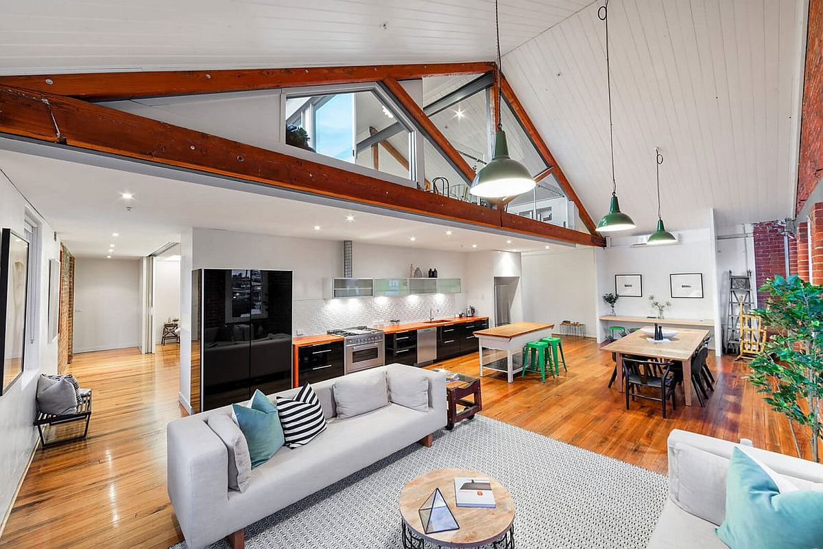 Revamped and restored Tannery home in Melbourne This Sparkling Penthouse in Melbourne was once the Trescowthick Tannery!