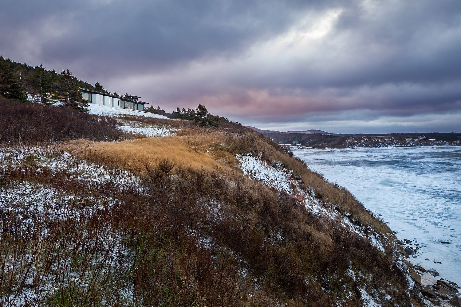 Rough coastline and Gulf of St. Lawrence offer stunning views at the Lookout