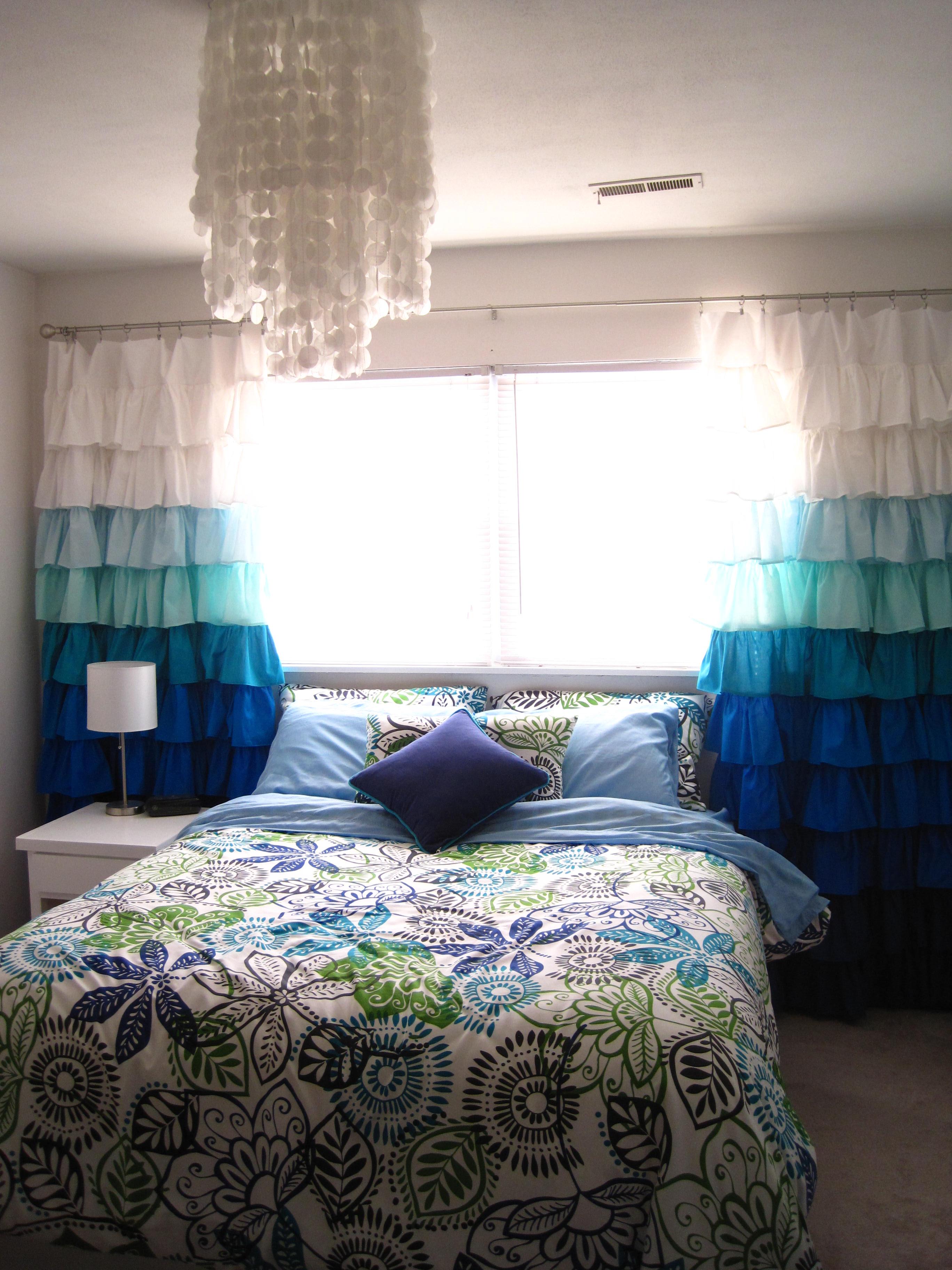 White Nursery Curtains