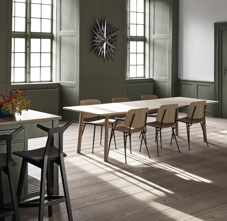 Søborg chair steel frame