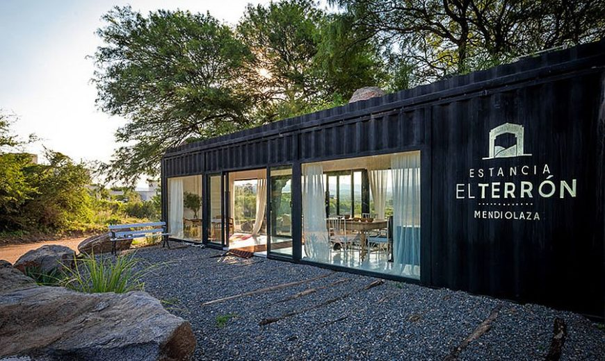 Adaptive Design: Shipping Container Turned into a Stylish Sales Gallery