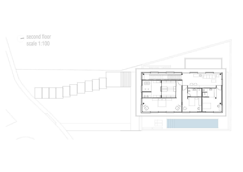Second-floor-plan-of-contemporary-Brazilian-home