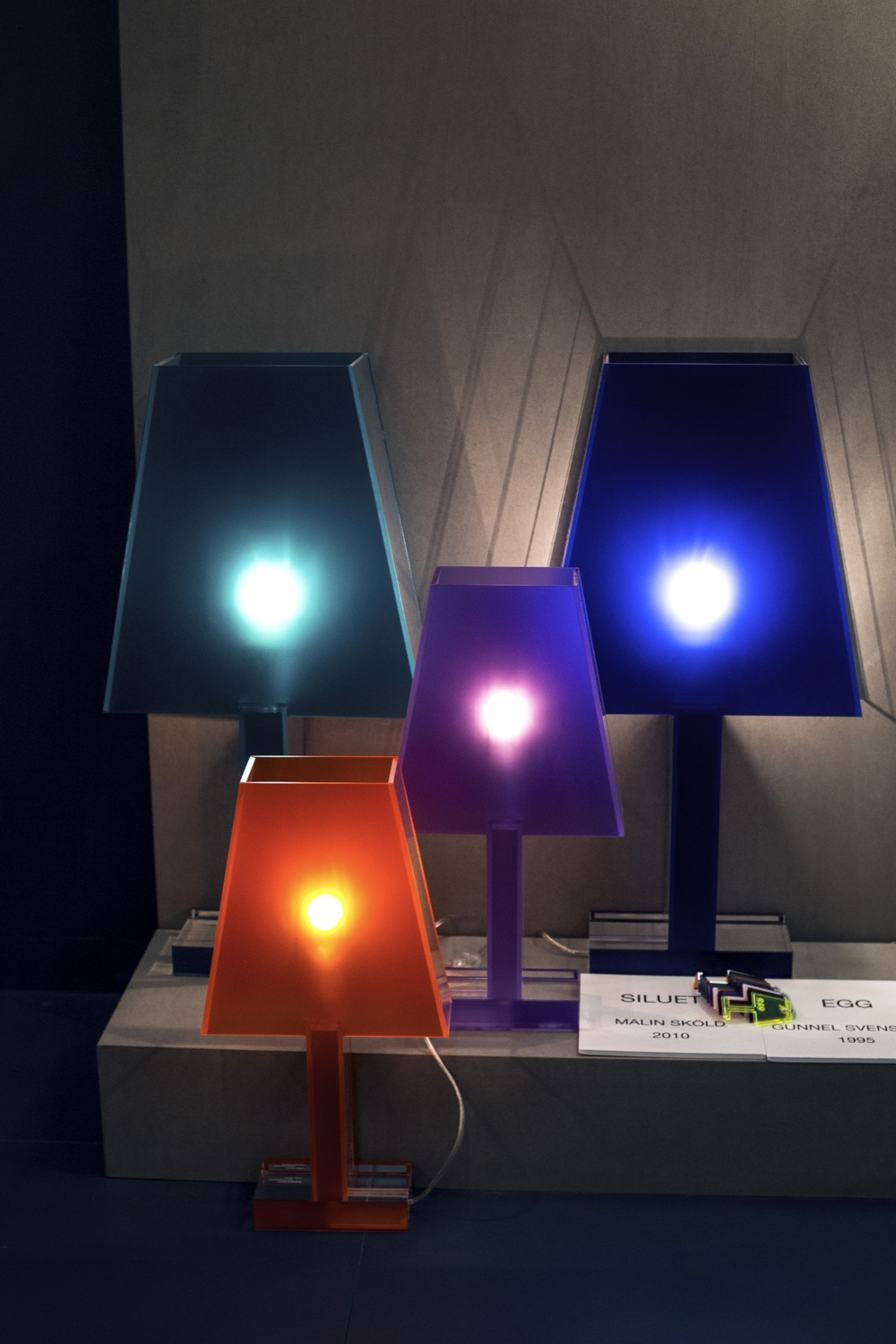 Siluett table lamps