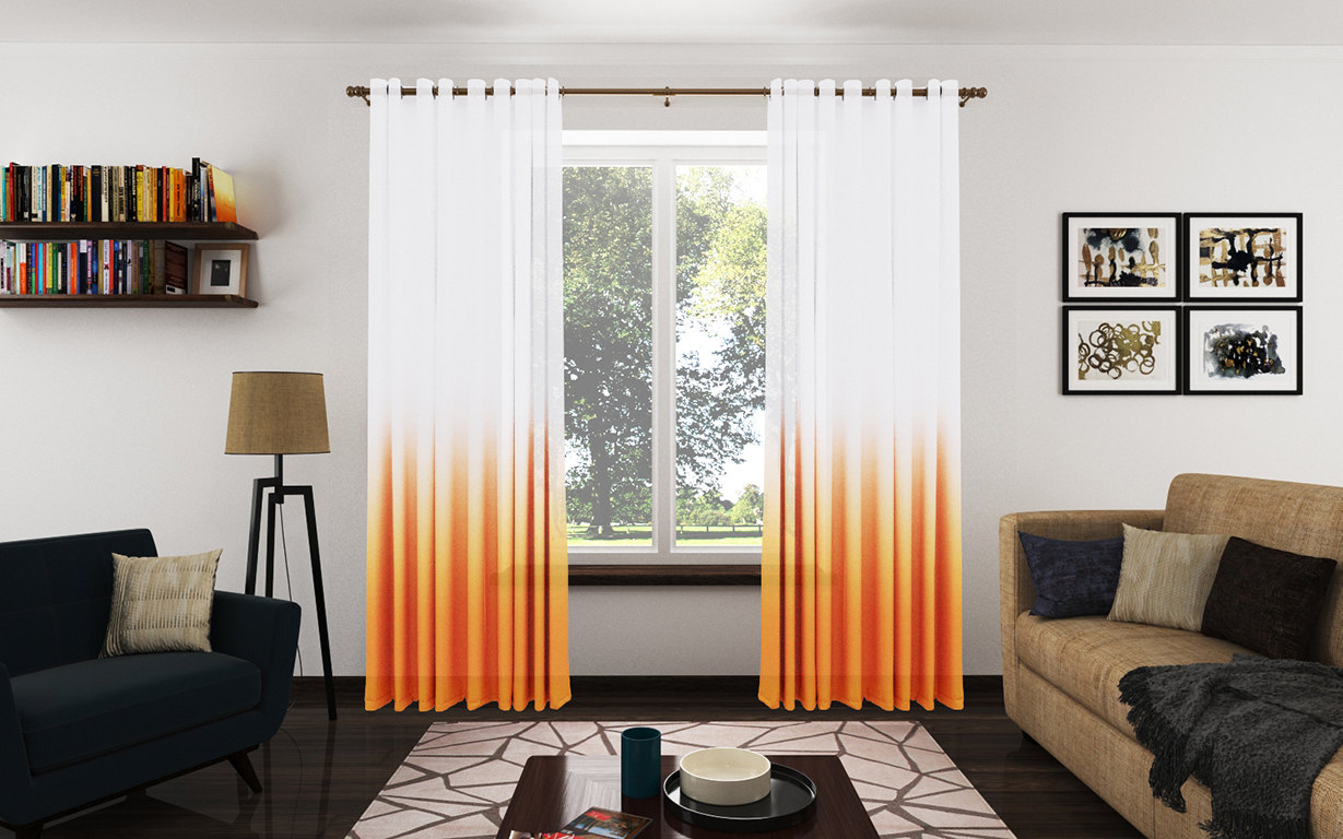 Trendy Ombre Curtains In Cold, Warm And Neutral Hues