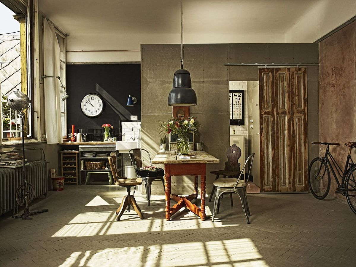 Old Painter S Studio Turned Into Tiny Vintage Industrial