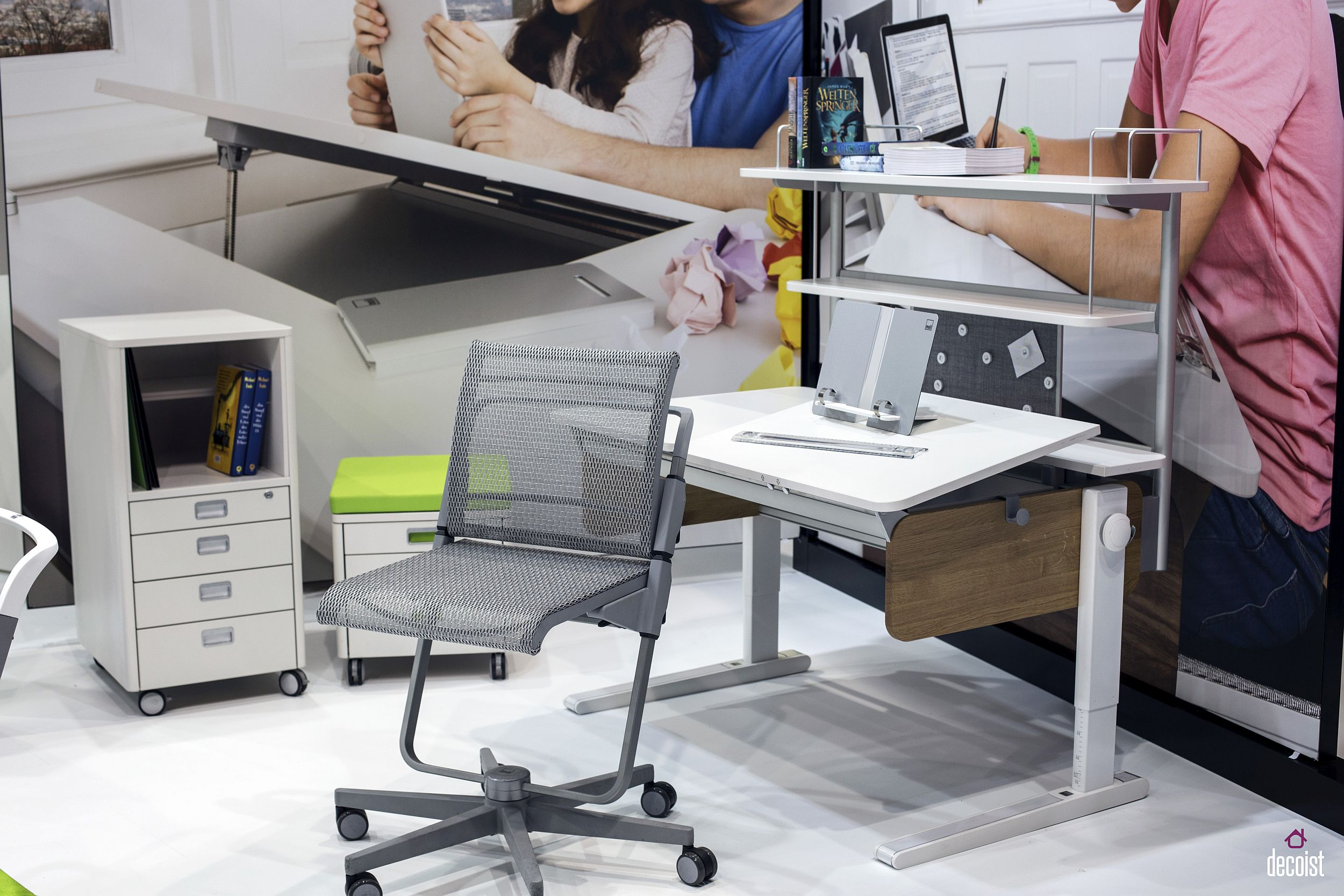 Smart desks are great for both kids and adults alike