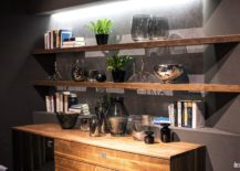 Smart-way-to-decorate-the-dining-room-corner-with-wooden-sideboard-and-floating-shelves-217x155