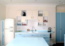 Spacious-kitchen-easily-pulls-off-the-retro-look-with-an-abundance-of-blue-217x155