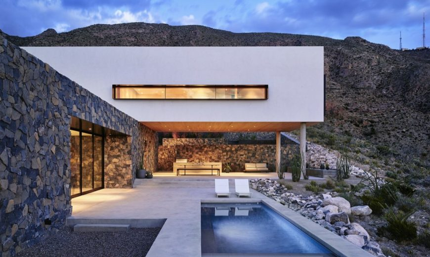 In the Foothills of Franklin Mountains: Multi-Level Family Home in El Paso