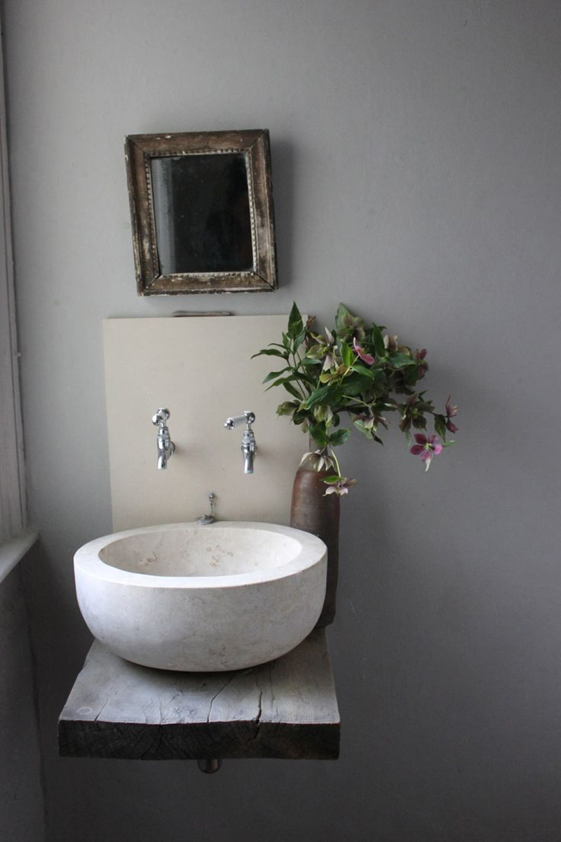 Raw Beauty Of Stone Vessel Sinks