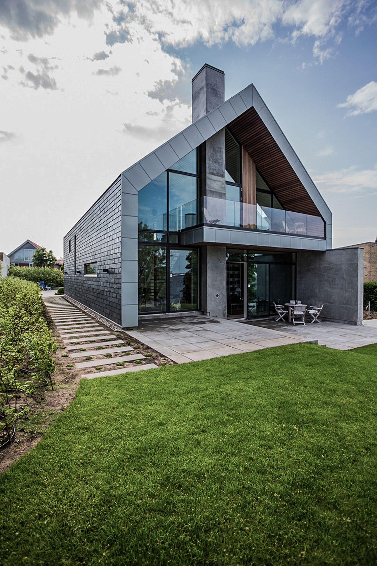 scenic ocean views meet serene nordic design at villa p. Black Bedroom Furniture Sets. Home Design Ideas