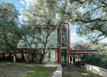 Stunning-glass-and-metal-design-of-The-Hidden-Pavilion-surrounded-by-forest-canopy-217x155