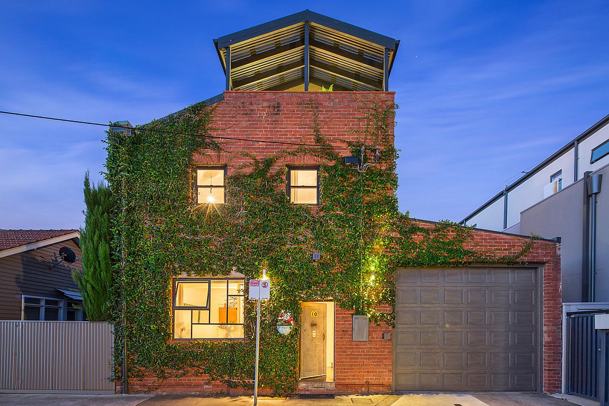 Old warehouse in melbourne turned into a modern green haven - Warehouse turned into home ...