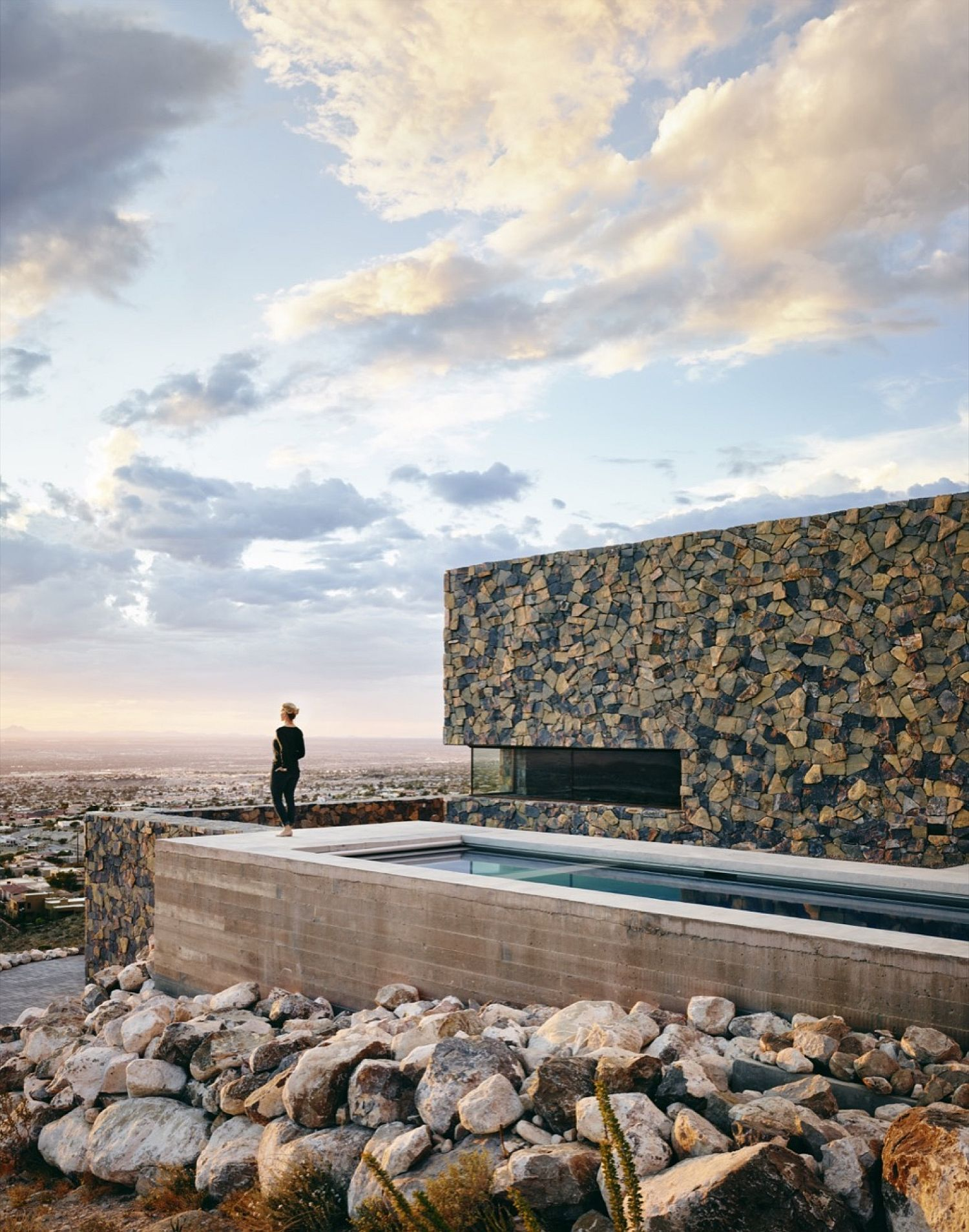 Stunning views of El Paso from the outdoor pool and deck