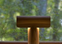 Teelo 8020 walnut veneer 217x155 10 Characterful Table Lamps