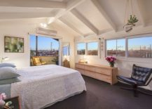 Tranquil-and-modern-bedroom-in-white-with-a-view-of-Melbournes-cityscape-217x155