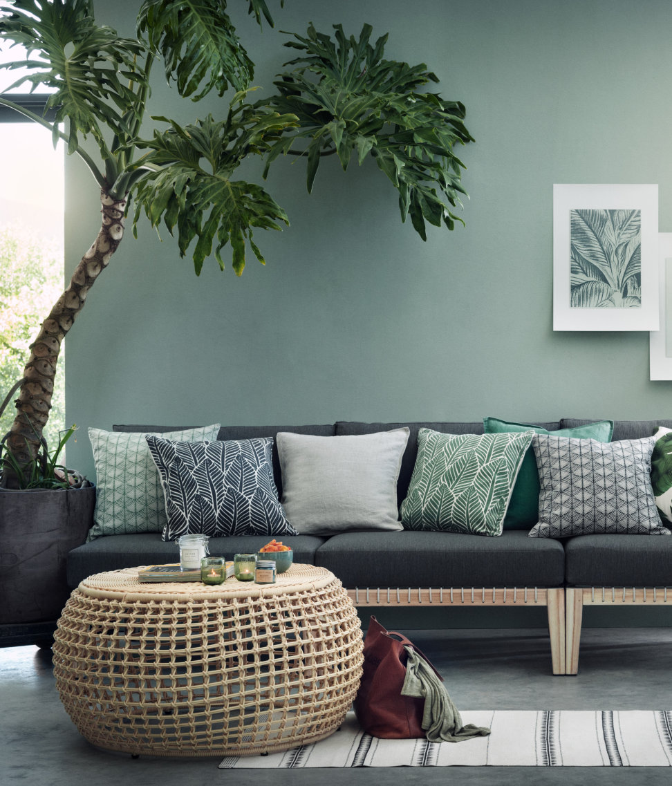 Tropical decor from H&M Home