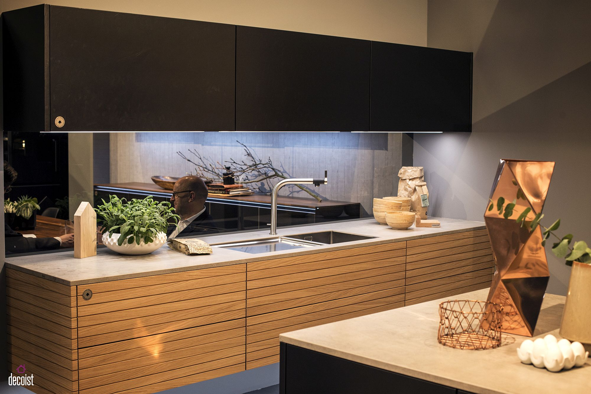 Decorating with led strip lights kitchens with energy efficient view in gallery under cabinet led strip lights used to illuminate workwithnaturefo