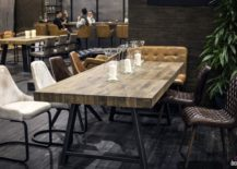 Unique-surface-of-the-wooden-dining-table-steals-the-show-here-217x155