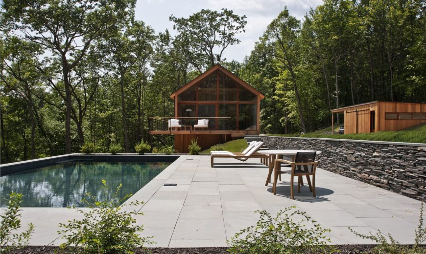 Hudson Woods: Sustainable Modern Cabins Offer an Escape from NYC