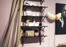 Wall-mounted-open-shelves-are-perfect-for-the-double-height-living-room-217x155