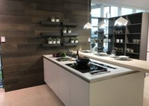 White-kitchen-island-with-wood-looking-wall-tiles-GamaDecor-217x155