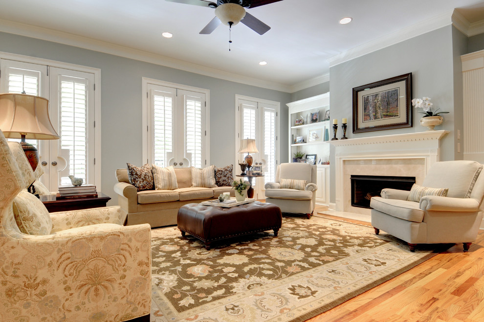 Beyond white bliss of soft and elegant beige living rooms for Neutral gray living room